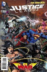 DC Comics's Justice League Issue # 22