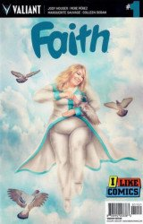 Valiant Entertainment's Faith Issue # 1i like comics