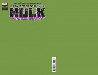 Marvel Comics's Immortal Hulk  Issue # 25i