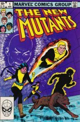 Marvel Comics's The New Mutants Issue # 1