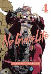 Viz Media's No Guns Life Soft Cover # 4