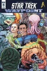 IDW Publishing's Star Trek: Waypoint Issue # 5sub