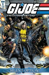 IDW Publishing's G.I. Joe: A Real American Hero - Silent Option Issue # 1