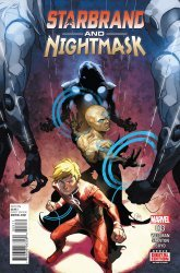 Marvel's Starbrand and Nightmask Issue # 3