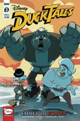 IDW Publishing's Ducktales: Faires and Scares Issue # 3b