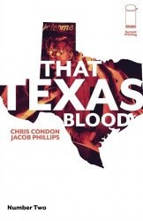 Image Comics's That Texas Blood Issue # 2 - 2nd print