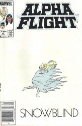 Marvel Comics's Alpha Flight Issue # 6b