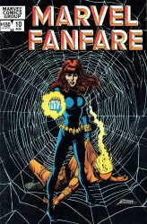 Marvel Comics's Marvel Fanfare Issue # 10