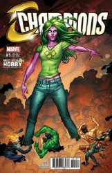 Marvel Comics's Champions Issue # 1most good
