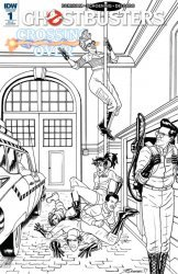 IDW Publishing's Ghostbusters: Crossing Over Issue # 1ri-a