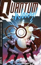Valiant Entertainment's Quantum & Woody Issue # 5c