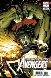 Marvel Comics's The Avengers Issue # 2 - 2nd print