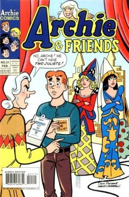 Archie Comics Groups Friends Issue 21