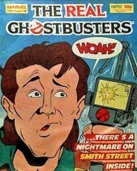 Marvel UK's The Real Ghostbusters Issue # 12