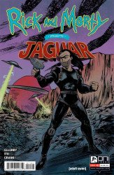 Oni Press's Rick And Morty Presents: Jaguar Issue # 1b