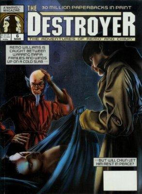 1989 Lot # 1-2 THE DESTROYER MAGAZINE Remo Williams