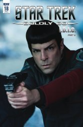 IDW Publishing's Star Trek: Boldly Go Issue # 18ri-a