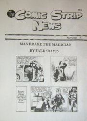 Quality Comics Group's Comic Strip News Issue # 19