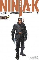 Valiant Entertainment's Ninja-K Issue # 1most good hobby-a