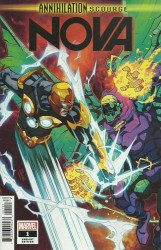 Marvel Comics's Annihilation Scourge: Nova Issue # 1b