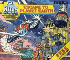 Western Printing Co.'s Go-Bots Issue # 1