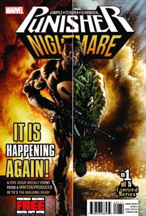 punisher nightmare 1 marvel comics comicbookrealmcom