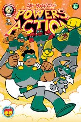 Action Lab Entertainment's Powers in Action Issue # 4