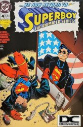 DC Comics's Superboy Issue # 4b