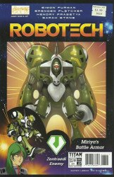 Titan Comics's Robotech Issue # 23b