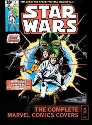 Insight Editions 's Star Wars: The Complete Marvel Comics Covers Mini Book Hard Cover # 1