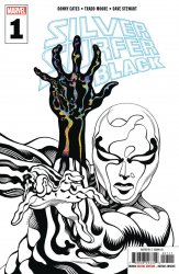 Marvel Comics's Silver Surfer: Black Issue # 1 - 3rd print