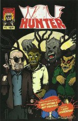 Sparkle Comics's Wolf Hunter Issue # 1