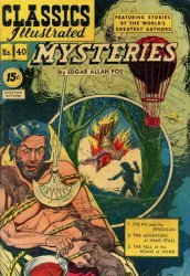 Gilberton Publications's Classics Illustrated #40: Mysteries Issue # 1d