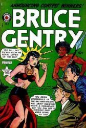 Superior Comics's Bruce Gentry Issue # 7
