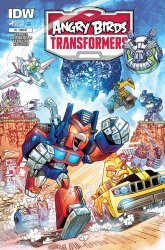 IDW Publishing's Angry Birds Transformers Issue # 1ri
