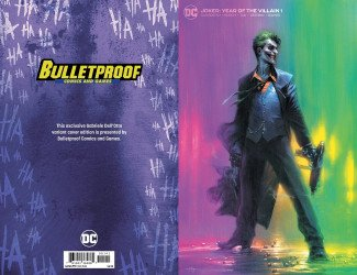 DC Comics's Joker: Year of the Villain Issue # 1bulletproof-b