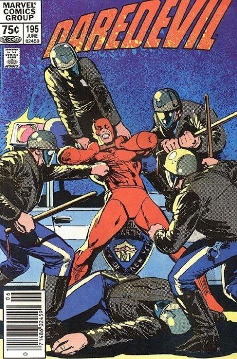 Marvel Comicss Daredevil Issue 195b