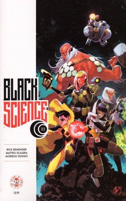 Black Science #23 VF//NM Rick Remender Image Comics