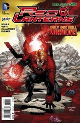 DC Comics's Red Lanterns Issue # 34