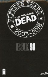 Image Comics's The Walking Dead: 15th Anniversary - Blind Bag Edition Issue # 98