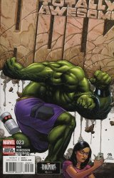 Marvel Comics's The Totally Awesome Hulk Issue # 23