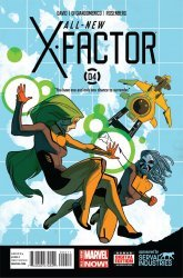 Marvel Comics's All-New X-Factor Issue # 4