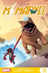 Marvel Comics's Ms. Marvel Meets The Marvel Universe Soft Cover # 1