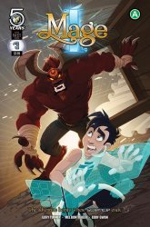 Action Lab Entertainment's I, Mage Issue # 3