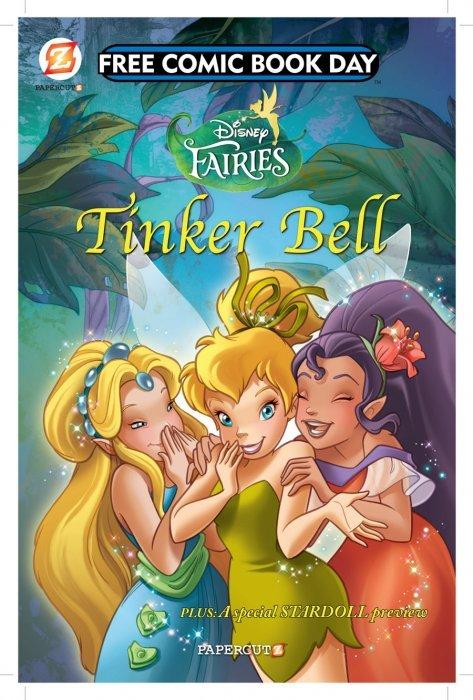 Disney Fairies Fcbd Papercutz Comicbookrealm Com