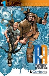 Valiant Entertainment's A&A Issue # 1comicspro