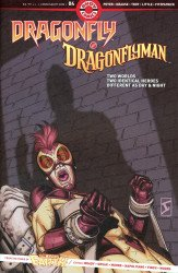 Ahoy Comics's Dragonfly & Dragonflyman Issue # 4