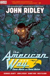 Vertigo's The American Way: Those Above and Those Below TPB # 3