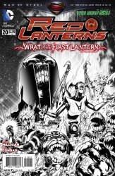 DC Comics's Red Lanterns Issue # 20b