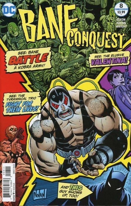 Bane Conquest #1 A Cover NM Comics Book